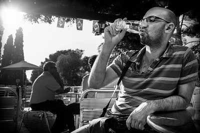 La dernière gorgée de bière