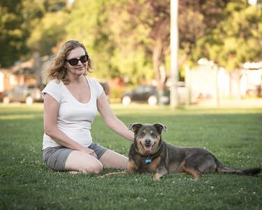 Deborah and M-dog