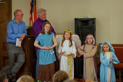 Image from Christmas Eve Service with RiverCross Church joined with  Demaree Free Will Baptist Church