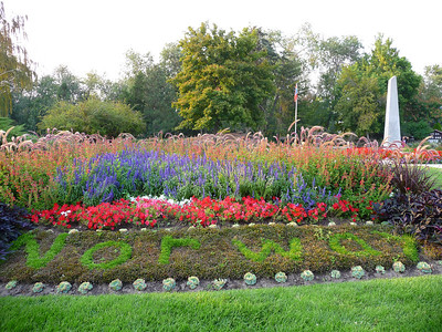 Norway, International Peace Gardens