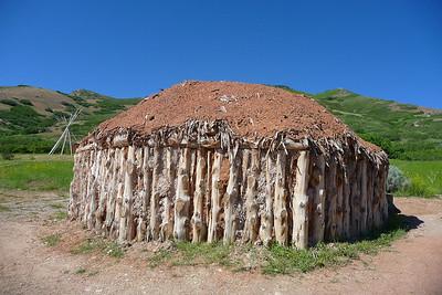 Navajo hut