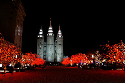 Temple Square Christmas 2013