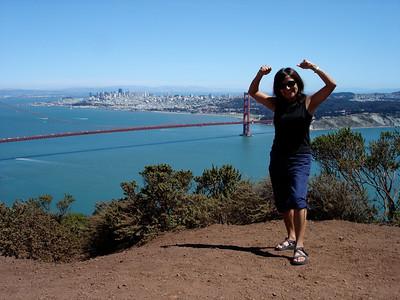 San Francisco from the Marin Headlands