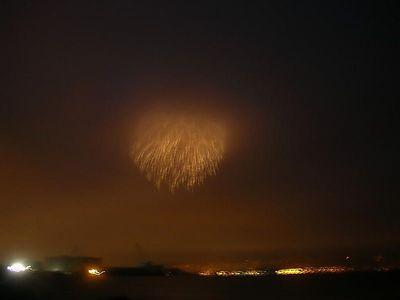 Impressionist fireworks.