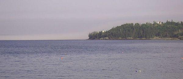 Eagle Island Lighthouse.