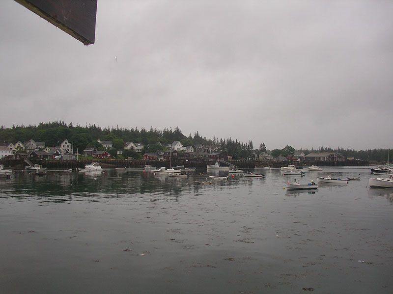 Vinalhaven harbour.