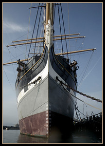 The  1886 square-rigger Balclutha.  http://www.nps.gov/safr/historyculture/balclutha.htm