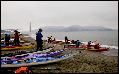 17 boats, 18 paddlers.