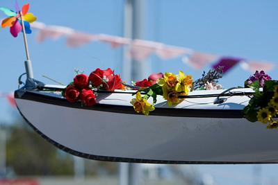 Flowery boat