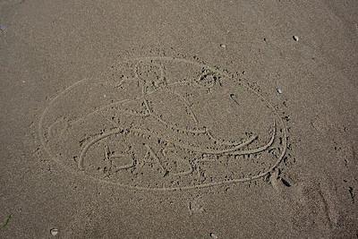 LaRhee's sand art