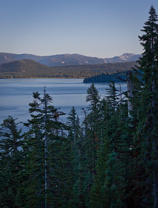 Camping at DL Bliss, you have easy access to the Rubicon Trail, with vistas of the lake.