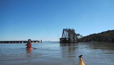 The Northwestern Pacific Swing Bridge ceased operation in 2001, but was rehabilitated in 2011, when it turned 100.
