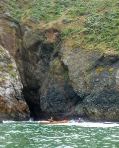 Cave, west side of Pt. Diablo