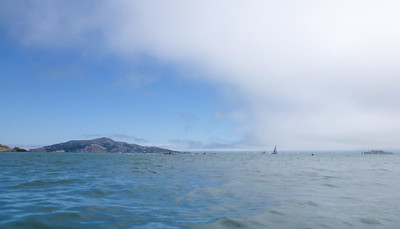And, we finish our day with a quick dip, and swift push toward Angel Island.