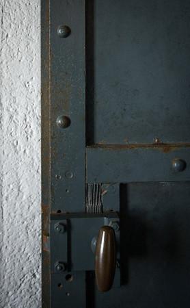 Ancient door hardware.