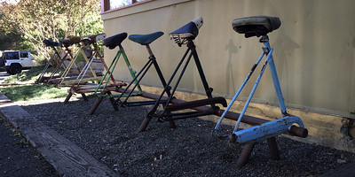 Boonville bike racks