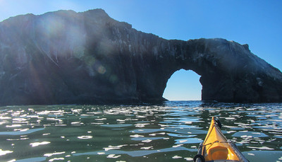 Goat Rock Arch on a spectacular day.
