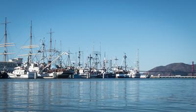 Idle fishing boats  :(