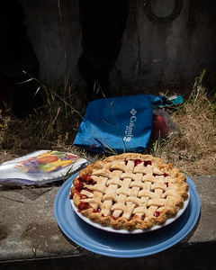 Strawberry-Rhubarb pie.