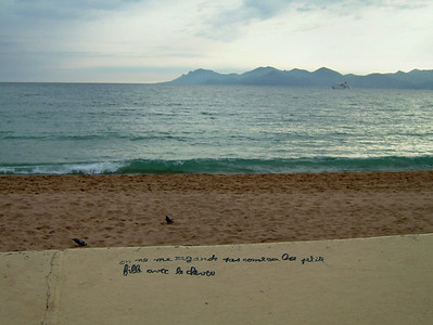 Cannes in winter, 2005
