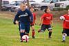 Visalia Youth Soccer for Pre-Kindergarten Ages - Wolfpack vs Wolverines 10-13-2007