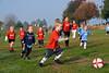 Visalia Youth Soccer for Pre-Kindergarten Ages Wolfpack vs Tarheels 11-03-2007