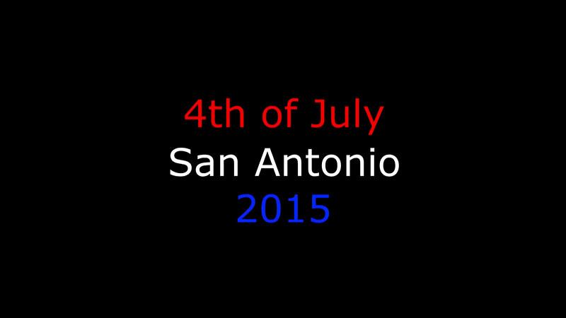 4th of July in San Antonio