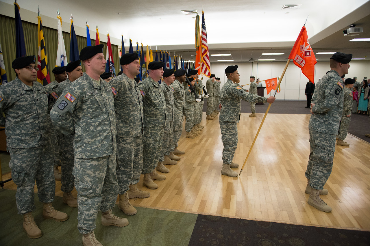 56th Signal Battalion Change of command ceremony.<br /> Sam Houston Comunity Center.