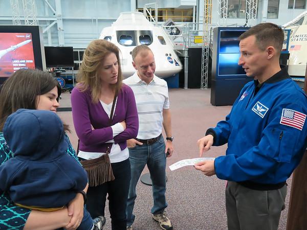 Houston NASA Visit