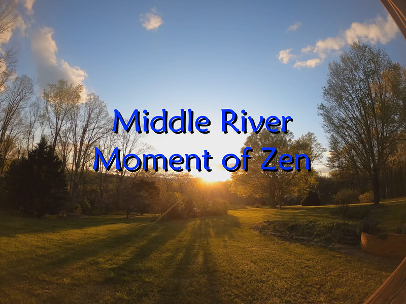 Middle River Moment of Zen