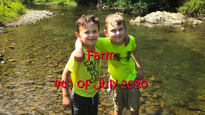 Farm 4th of July 2020