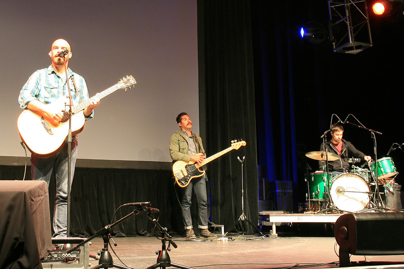 Tim Timmons leading worship on Sunday July 29, 2012 at the Grove.