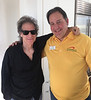 Comedian Richard Lewis with LifeSource Rep, Roger Rignack.  Richard and  and his  wife, Joyce Lapinsky had their LifeSource system installed in 2016.