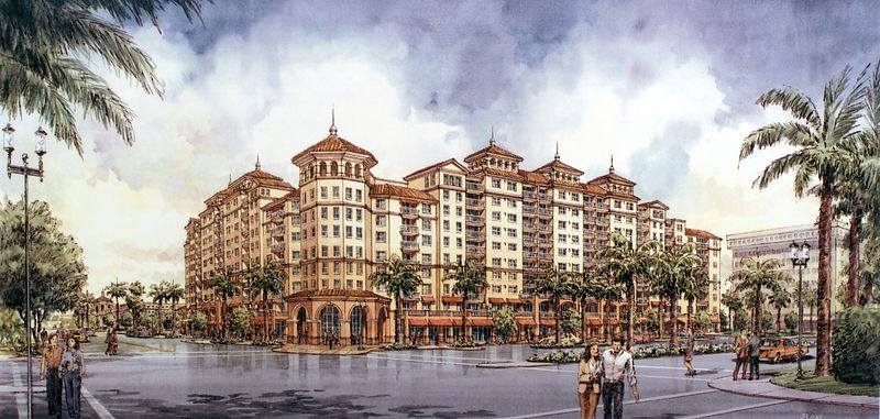 Palmetto Place rendering looking nw