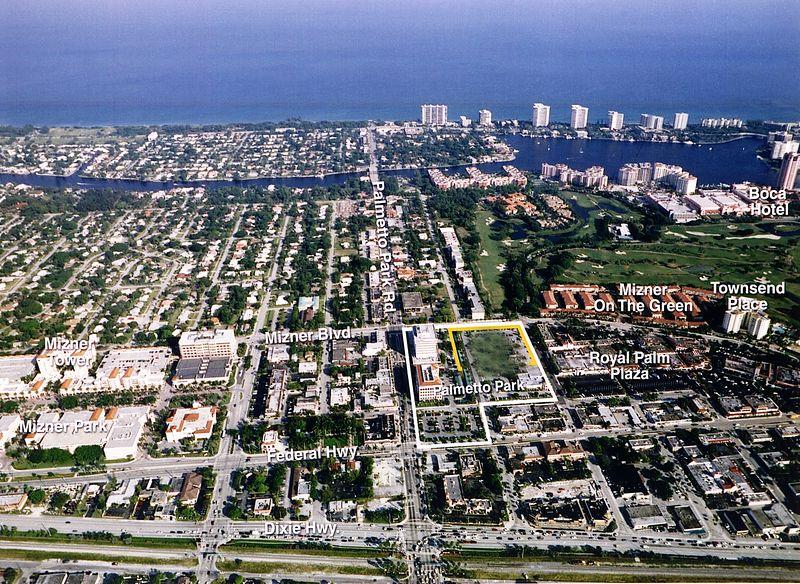 Boca Raton City Center Aerial phoho