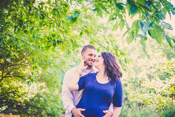 Erika + John | Maternity | Tyler State Park