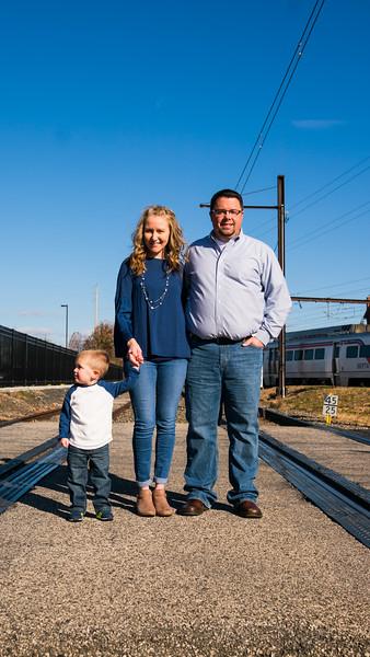 Zackowski Family | Landsdale Station | 11.26.2017