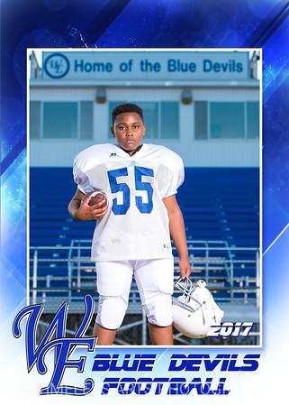 Blue Devil Football-16-#55