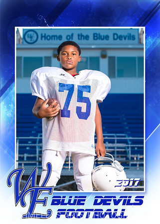 Blue Devil Football-7-#75