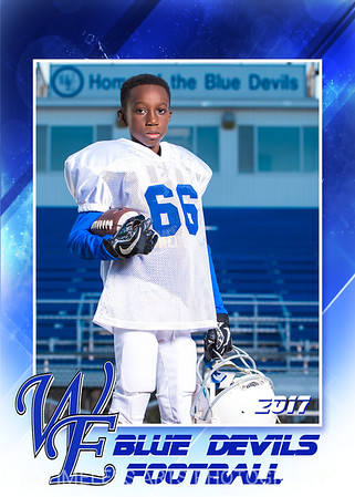 Blue Devil Football-2-#66