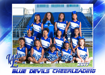 Blue Devil Cheerleading Group 2017-1
