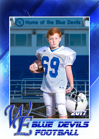 Blue Devil Football-1-#69