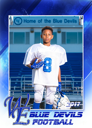 Blue Devil Football-5-#8