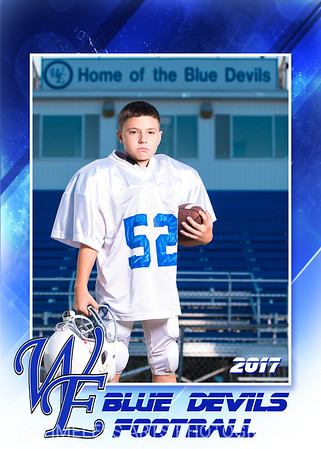Blue Devil Football-6-#52