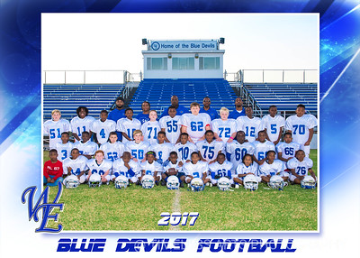 Blue Devil Football-Team