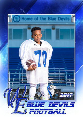 Blue Devil Football-4-#70