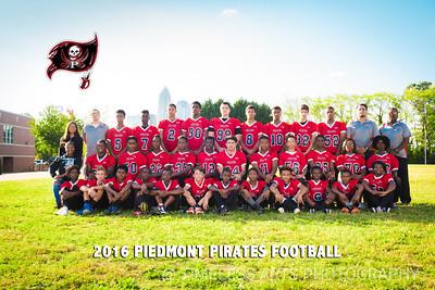 2016-Piedmont-Football-Team