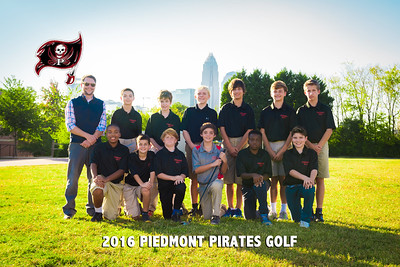2016-Piedmont-Golf-Team