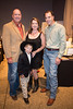 Cancer survivor Hayden Head with his parents Matthew and Lizzie of Parker County and Grant Harris, Vice President of Cook Children's Hospital (far right).