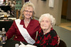 Billie June Cox, Ms. Senior Parker County, with Opal Bowden, 2006 Ms. Senior Parker County. Bowden is one hundred and five years old.